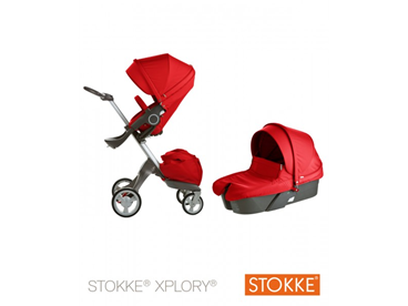 Коляска 2 в 1 Stokke Xplory Red