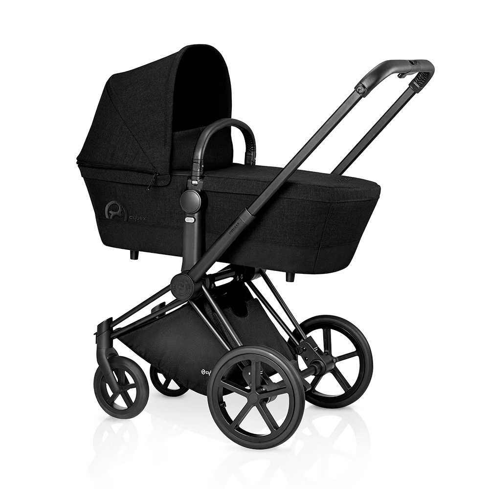 CYBEX Коляска Priam Stardust Black на шасси Matt Black с колесами All Terrain