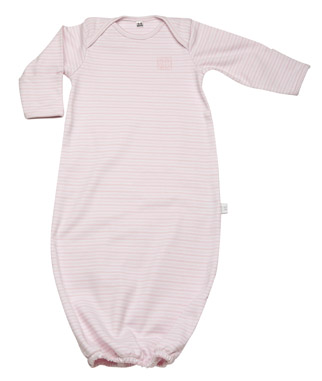 Спальник/Пижама 100% хлопок Bundler sleep sack pink stripe