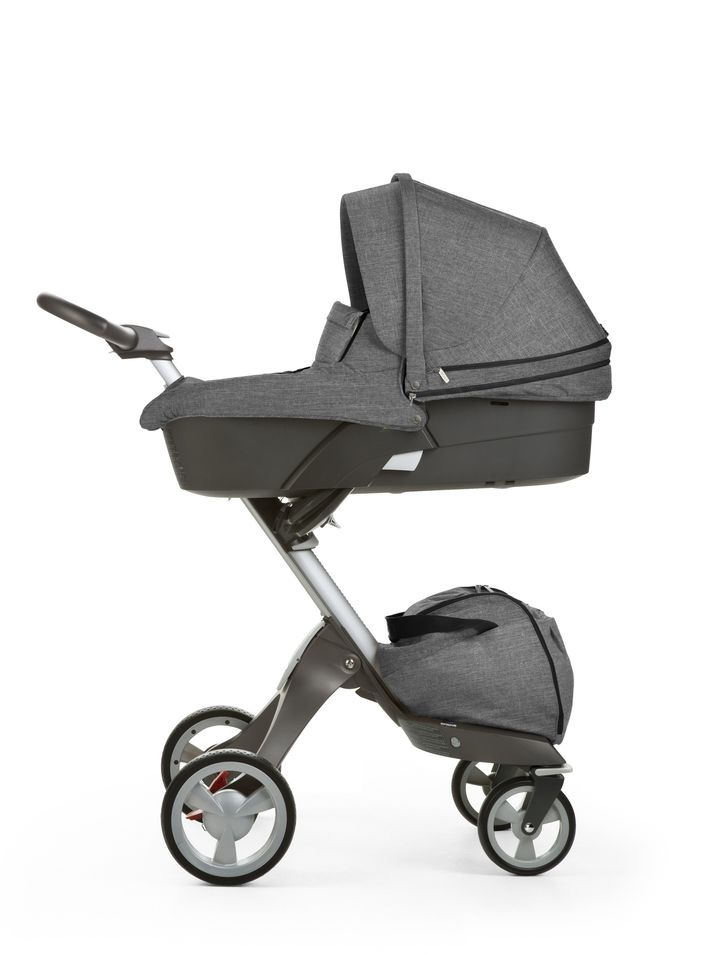 Коляска 2 в 1 Stokke Xplory Limited Edition Black Melange