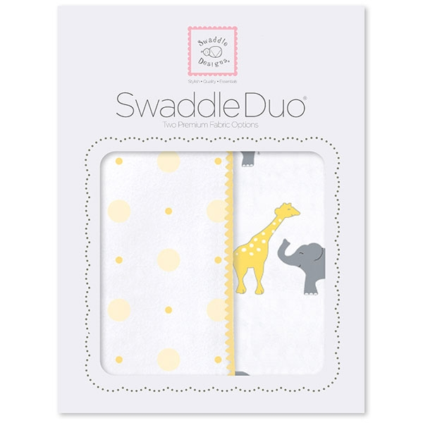 Набор пеленок SwaddleDesigns Swaddle Duo Swaddle Duo YW Circus Fun
